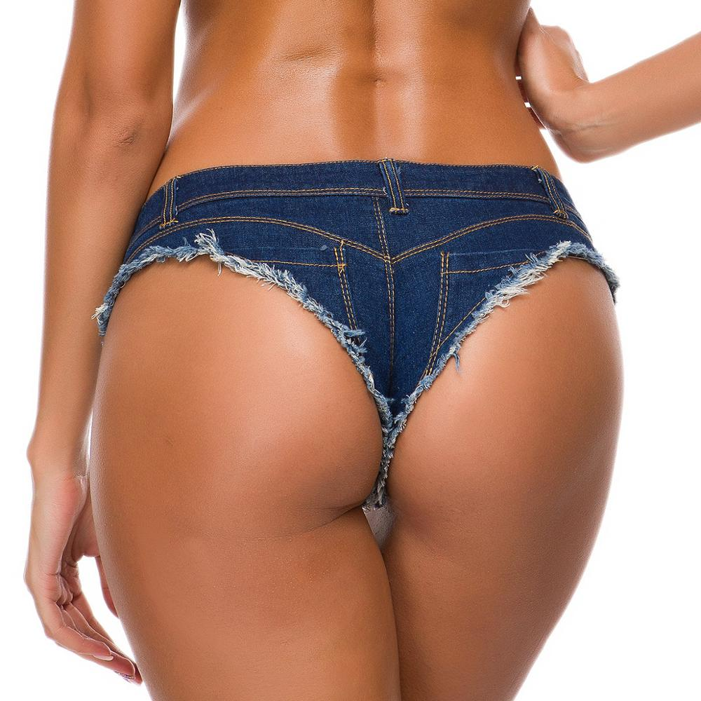 TASTIEN Brand Sexy Women Shorts New Fashion Summer Denim Cotton Shorts Low Waist Stretch Mini Super Jeans Booty Shorts Clubwears