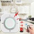 TISHRIC Drahtlose Rauchmelder 433mhz Feuer Alarm Sensor Tragbare Feuer Ausrüstung Für Smart Home Security Alarm Systeme-in Rauchmelder aus Sicherheit und Schutz bei