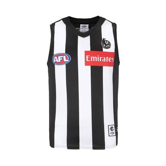 AFL COLLINGWOOD MAGPIES 2019 MEN'S HOME JERSEY size S-3XL Print custom names and numbers Top quality Free shipping(China)