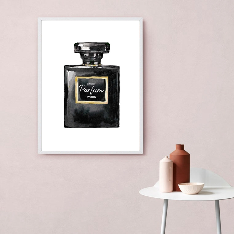 Perfume wall art prints