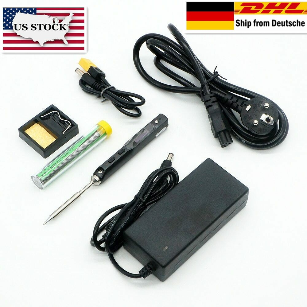 Soldering-Iron Power-Supply Temperature TS100 Programable Adjustable Electric Mini Digital