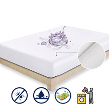160X200 Smooth Spinning Cloth Mattress Cover Breathable Antibacterial Mattress Protect Pad Cover Anti dust Sheet With
