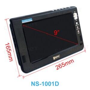 Image 5 - נייד טלוויזיה DVB T2 tdt 9 אינץ טלוויזיה דיגיטלי ואנלוגי מיני קטן רכב טלוויזיה NS 1001D עבור צג תמיכת HDMI PVR h.265 AC3