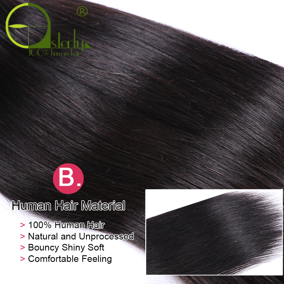 H86a71561ece449bcbe81f25779e00f2el Sterly Straight Hair Bundles With Frontal Remy Human Hair Bundles With Closure Brazilian Hair Weave Bundles With Closure