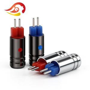 Image 3 - QYFANG conector de cable para auriculares Aurora conector de Audio de 2 pines, Conector de cobre de berilio chapado en rodio para W4R UM3X JH13 JH16, 0,78mm