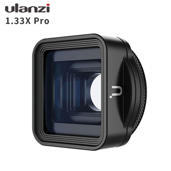 Ulanzi 1.33X Pro Anamorphic Lens for iPhone 11 Pro XR XS Max HD 4K Movie Shooting Filmmaking Phone Camera Lens 1