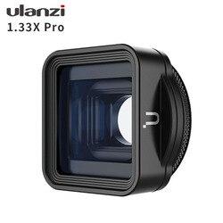 Ulanzi 1.33X Pro Anamorphic Lens Voor Iphone 11 Pro Xr Xs Max Hd 4K Filmopnamen Filmmaken Telefoon Camera lens