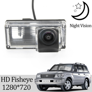 Owtosin HD 1280*720 Fisheye Rear View Camera For Toyota Land Cruiser 100 LC100 1998-2007 Car Vehicle Reverse Parking Accessories