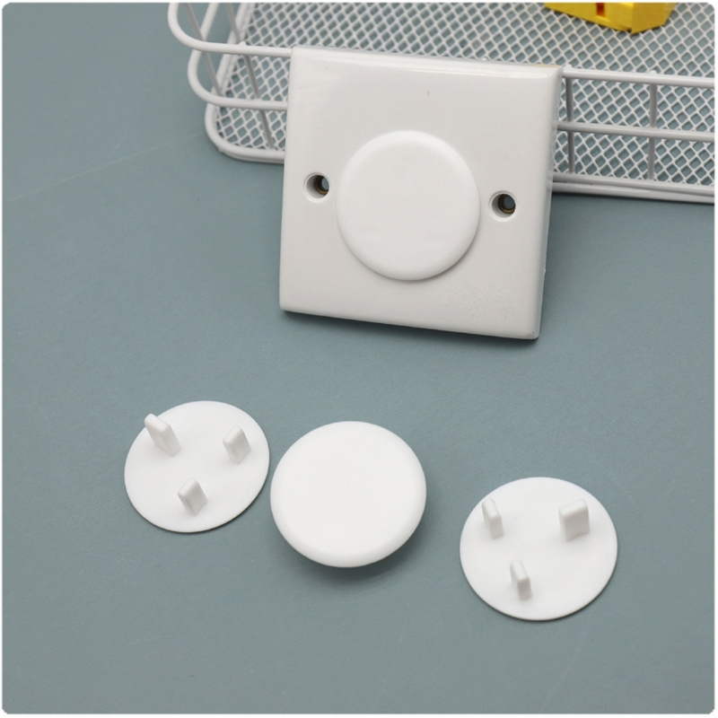 20pcs/lot Baby Electric Socket Outlet Plug Protection Security UK Sockets Cover