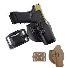 Военная кобура glock тактическая glcok с ремнем для правой руки