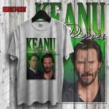 Keanu reeves camisa do vintage 90 estilo superior artista retro camisa presente de aniversário camisa john wick shirtvintage camisa estilo clássico camisa