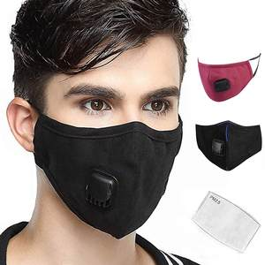 Respirator Washable Close Outdoor Cotton CARBON-FILTER Face-Mouth-Cover Too Activated