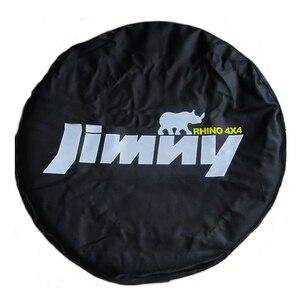 "Image 1 - 14 ""15"" אינץ (צמיג קוטר 24 "" 29"") heavy Duty PVC עור חילוף צמיג גלגל כיסוי Case פאוץ מגן תיק עבור סוזוקי Jimny"