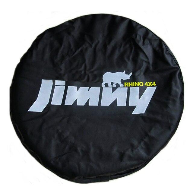 """14 """"15"""" אינץ (צמיג קוטר 24 """" 29"""") heavy Duty PVC עור חילוף צמיג גלגל כיסוי Case פאוץ מגן תיק עבור סוזוקי Jimny"""