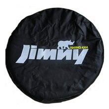 """14 """"15"""" Inch (Band Diameter 24 """" 29"""") zware PVC Lederen Reservewiel Wheel Cover Case Pouch Protector Bag Voor Suzuki Jimny"""