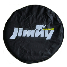 "14"" 15"" Inch (Tire Diameter 24""  29"") Heavy Duty PVC Leather Spare Tire Wheel Cover Case Pouch Protector Bag For Suzuki Jimny"