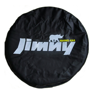 "Image 1 - 14"" 15"" Inch (Tire Diameter 24""  29"") Heavy Duty PVC Leather Spare Tire Wheel Cover Case Pouch Protector Bag For Suzuki Jimny"