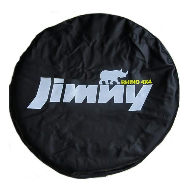 """14 """"15"""" Inch (Đường Kính Lốp 24 """" 29"""") hạng Nặng Da PVC Lốp Dự Phòng Vỏ Bánh Xe Ốp Lưng Túi Bảo Vệ Túi Dành Cho Xe Suzuki Jimny"""