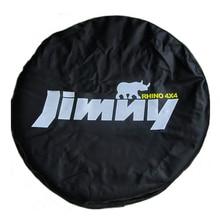 """Funda protectora para rueda de repuesto de cuero PVC resistente, 14 """", 15"""", (diámetro de neumático 24 """" 29""""), para Suzuki Jimny"""