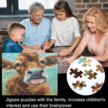 Puzzle 1000 pieces Puzzle Set Baby toys Adult And Child Space Puzzle Fun Fact Educational Toys for Children jigsaw puzzle фото