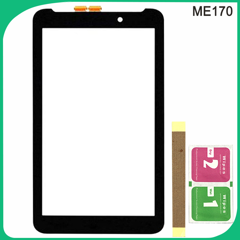 Tested ME170 Touch Screen For <font><b>Asus</b></font> MeMO Pad 7 ME170 ME170C <font><b>K012</b></font> Touch Sensor Glass Digitizer Panel image