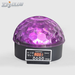 9 kolor led głośnik bluetooth kula dyskotekowa światło z Mp3 odtwarzacz Prom laserowe oświetlenie na imprezę 18W światła sceniczne dla dj'a laserowa lampa projekcyjna w Oświetlenie sceniczne od Lampy i oświetlenie na