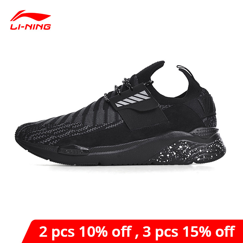 Li-Ning <font><b>Men's</b></font> Lifestyle <font><b>Shoes</b></font> Sports Life Wearable Sport <font><b>Shoes</b></font> Breathable <font><b>LiNing</b></font> li ning Comfort Leisure Sneakers GLKN021 YXB167 image