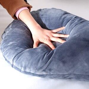 Image 5 - 116x65cm hamile yastık kılıfı Gravida U tipi bel yastık çok fonksiyonlu yan koruma minder örtüsü gebelik kadınlar için
