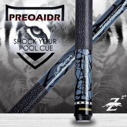 Cue-Stick PREOAIDR 3142 Z2, Набор для игры в бассейн, черный, 8 профессиональных, 11,5/13 мм