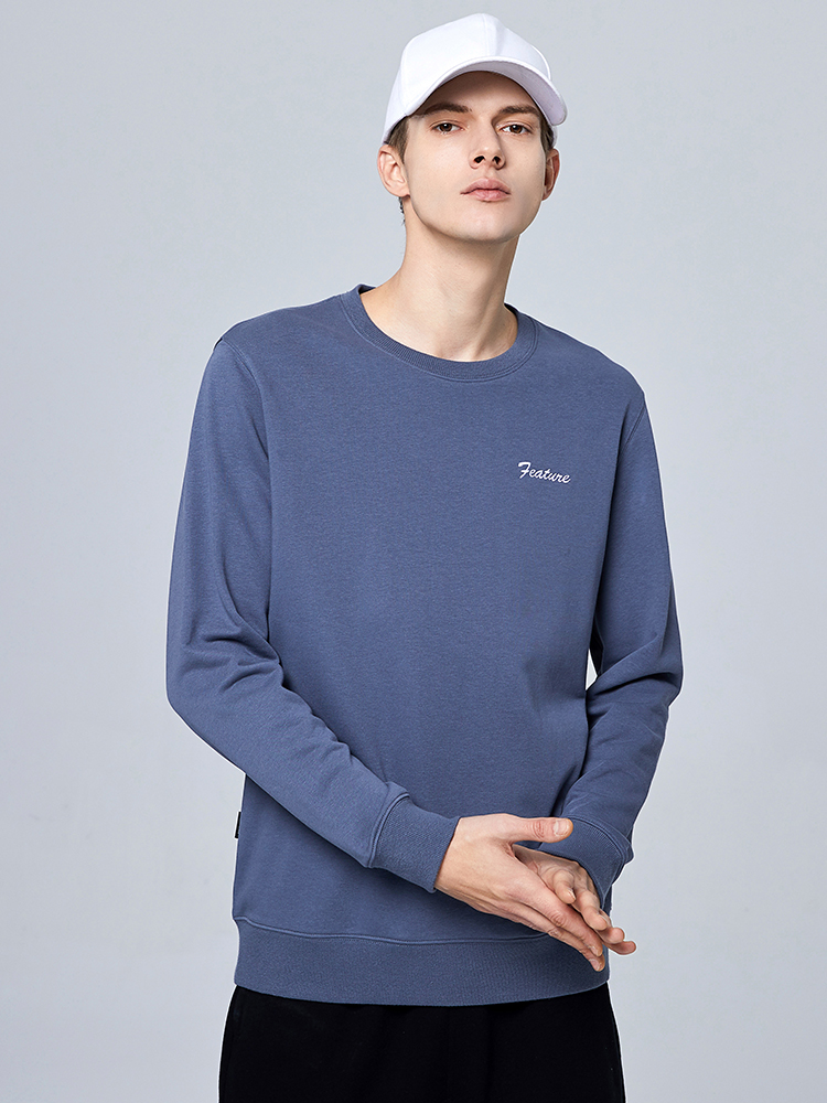 Pioneer Camp 2020 New Spring Summer Cotton Hoodied Mens Sweatshirts Solid O-neck Hoodies Men Sportswear Zipper AWY0107029