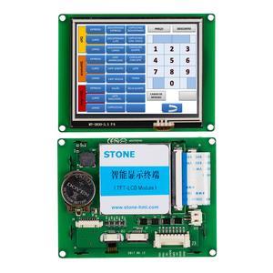 """3,5 """"Серийный ЖК-дисплей, модуль с программой + сенсорный экран + контроллер для оборудования, панель управления"""
