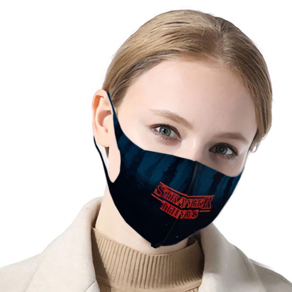 2020 New Stranger Things Phone Case Women/men Mask Stranger Things Dust-proof Mask Fashion Female/male Filter Dust Mask