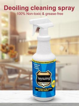 30Ml Grease Police Magic Degreaser Cleaner Spray Household Bathroom Degreaser Dirt Oil Cleaner Kitchen Cleaning Tools