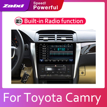 ZaiXi Android 2 Din Car radio Multimedia Video Player auto Stereo GPS MAP For Toyota Camry Aurion 2011~2017 Media Navigation andrid car radio multimedia player 2 din car gps stereo for toyota camry aurion 2007 2008 2009 2011 with navigation mirror link