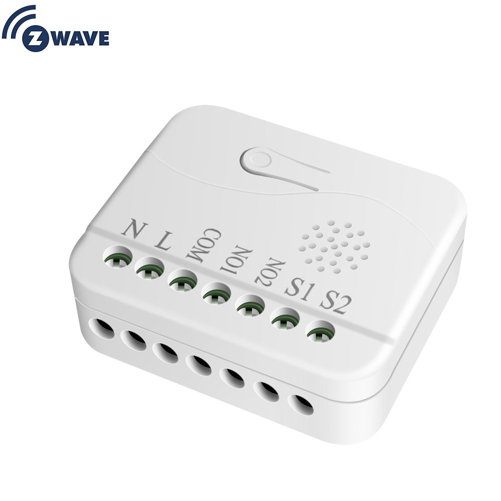 Smart Home Automation Z Wave Dual Relay Module EU 868.4MHZ Resistive Load 1500W