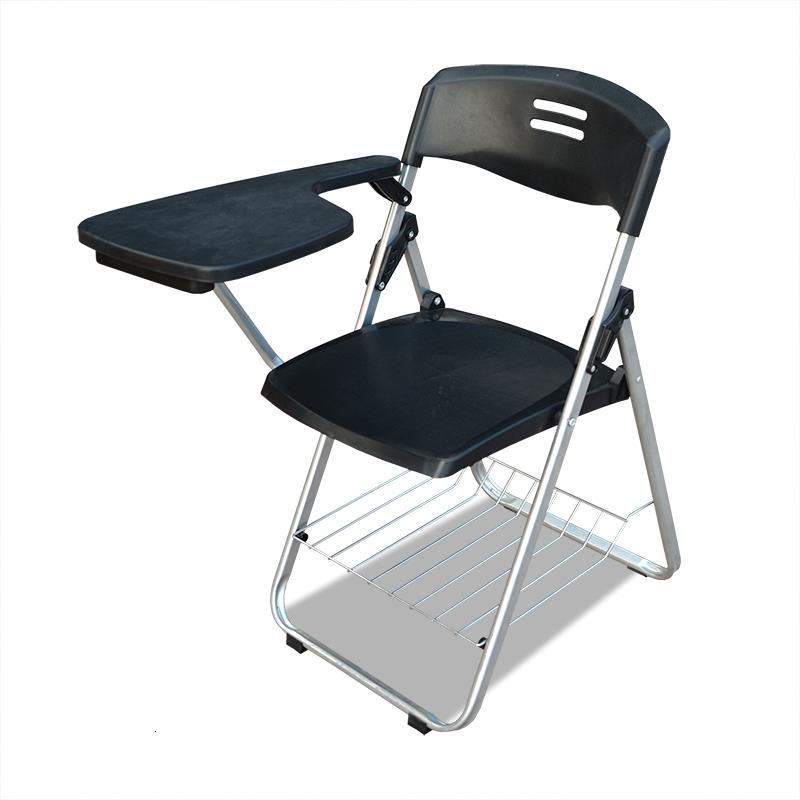Jefe Alta Calidad Meeting Cadeira Com Escrita Modern Sedie Moderne Pieghevoli Silla Oficina Office Folding Chair With Board
