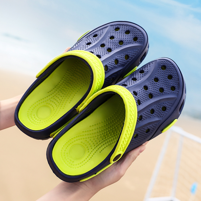Hole Sandals Men Sandles Literide Crocks Crocse Clogs Men Sandalias Zapatos De Hombre Croc Shoes EVA Sandals Man Slippers