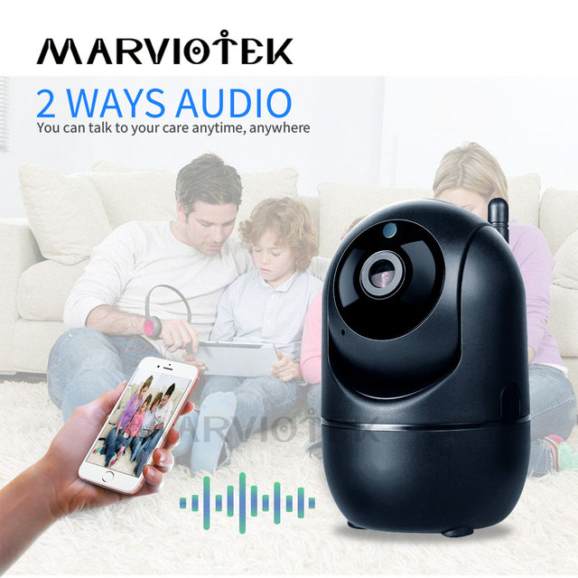 Home Security 720P Baby Monitor Wifi Baby Monitor With Camera Night Vision Two Way Audio Video Nanny Baby Phone Camera Wireless