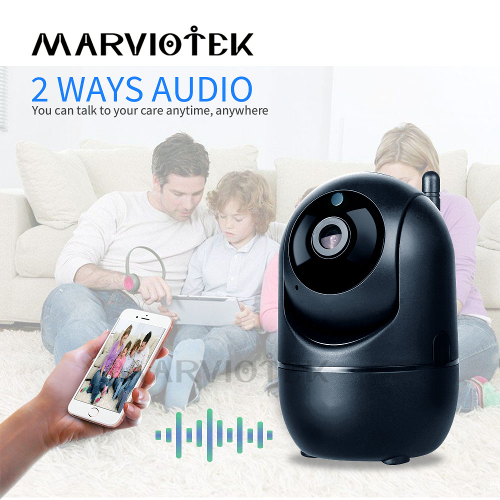 Home Security Baby Monitor Wifi Baby Camera With Monitor Night Vision Two Way Audio Video Nanny Baby Phone Camera 720P Wireless