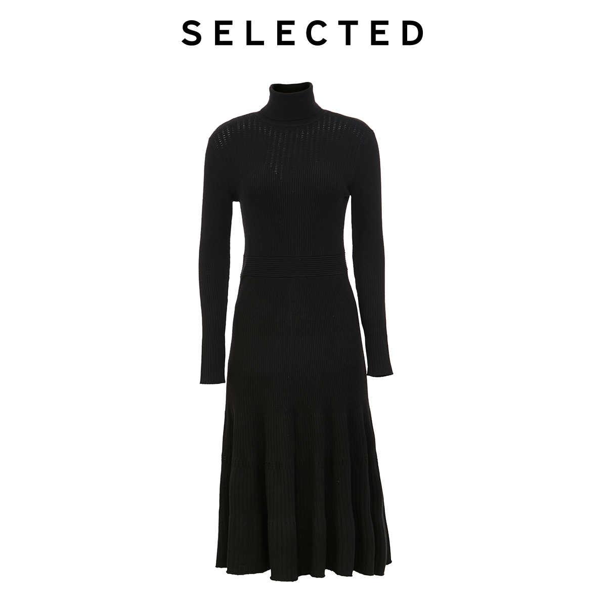 เลือกผู้หญิง SLIM FIT ร่มกลางความยาวชุดถัก S   419446505