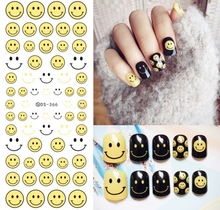 Variety VSCO nail sticker girl watermark nail applique nail sticker nail oil glue ultra-thin watermark stickers toy nail sticker nail sticker korea 3d nail sticker watermark applique phototherapy nail polish glue flower sticker white big sticker