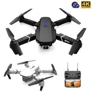Fold FPV Drone Quadcopter with Camera Dron Professional 4K Drone Height Hold Drone 4K Dual Camera Drones Quadrocopter Toy(China)