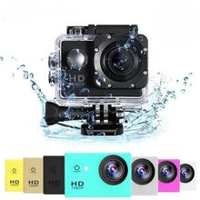 Buy HD Action Camera Waterproof Camera 2.0 Inch motorcycle helmet camera HD Extreme Sports DV Camera Novice Accessories directly from merchant!