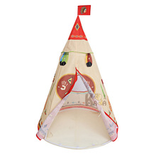 New Indian Pattern Children Toy Tent Teepees Safety Tipi Portable Indoor Game Tents Outdoor Playhouse for Kids Gifts B660