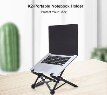 8 Height Adjustable Setting Laptop Notebook Macbook Stand Mount Holder Portable Tray Laptop Lazy Table Stand - DISCOUNT ITEM  10 OFF Furniture