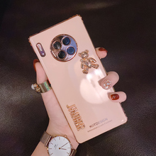 Little Bears Luxurious Electroplated Phone Cases For