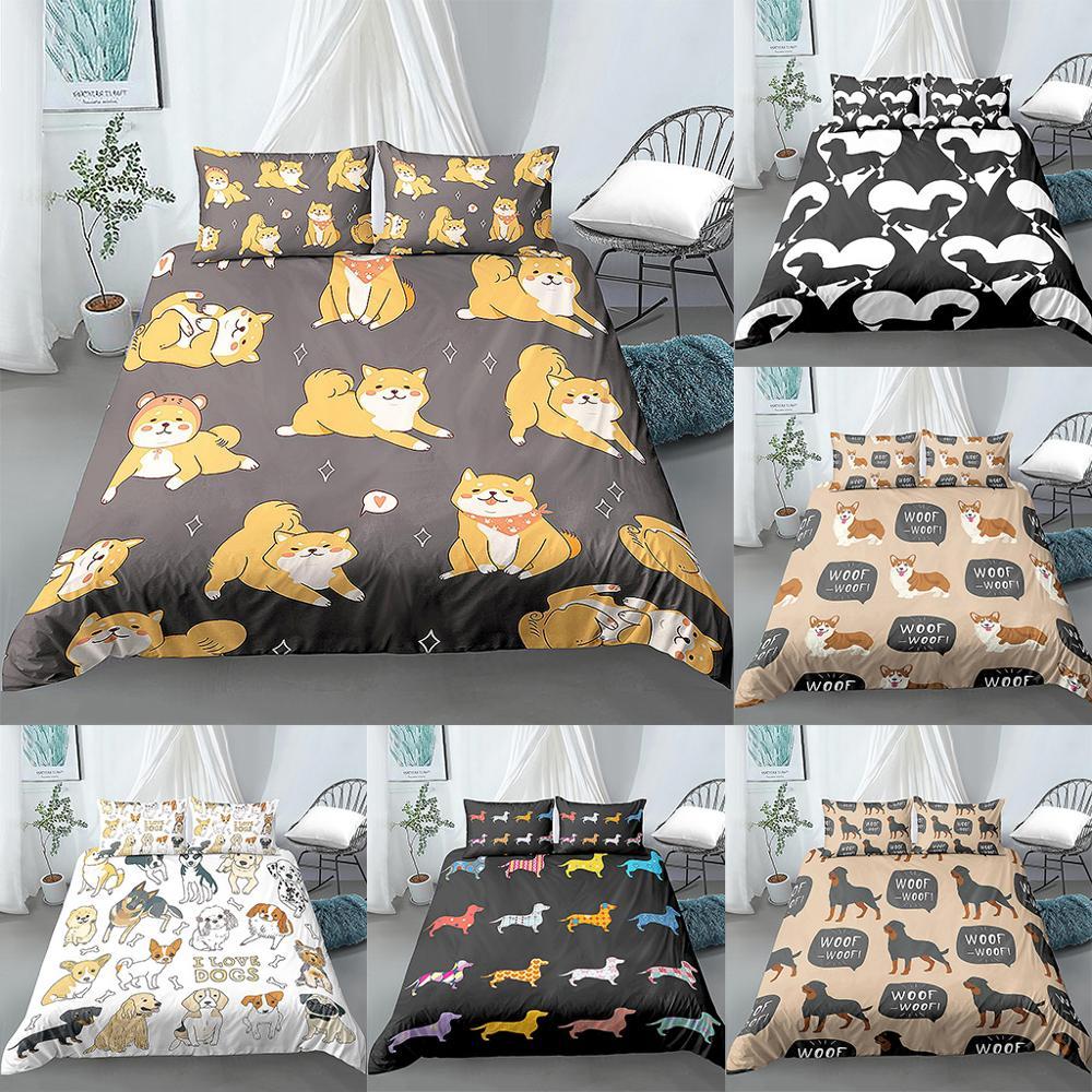 dog comforter full