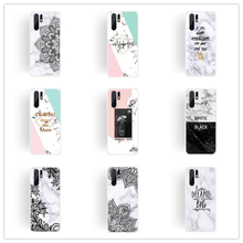 for Huawei P30 P20 Lite Mate 20 P10 Case Marble Shell Huawai Honor 8x Bee Protective Soft Mate20 Pro P 30 10 Coque
