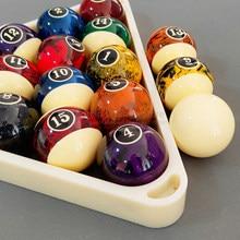 Ensemble de balles de billard de 5.72cm, Texture de marbre noir, piscine de 8 à neuf balles d'entraînement, dont 16 pièces