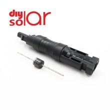 30a 20a 15a 10a ip68 à prova dip68 água diodos uso do conector do pv do diodo para a proteção paralela do módulo do painel da pilha solar ampères